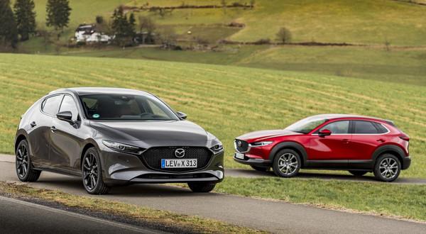 Mazda 3 i Mazda CX-30 – lepsze, bo zelektryfikowane