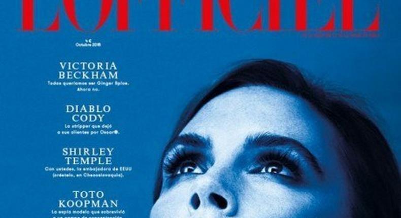 Victoria Beckham covers L'Officiel Spain Magazine