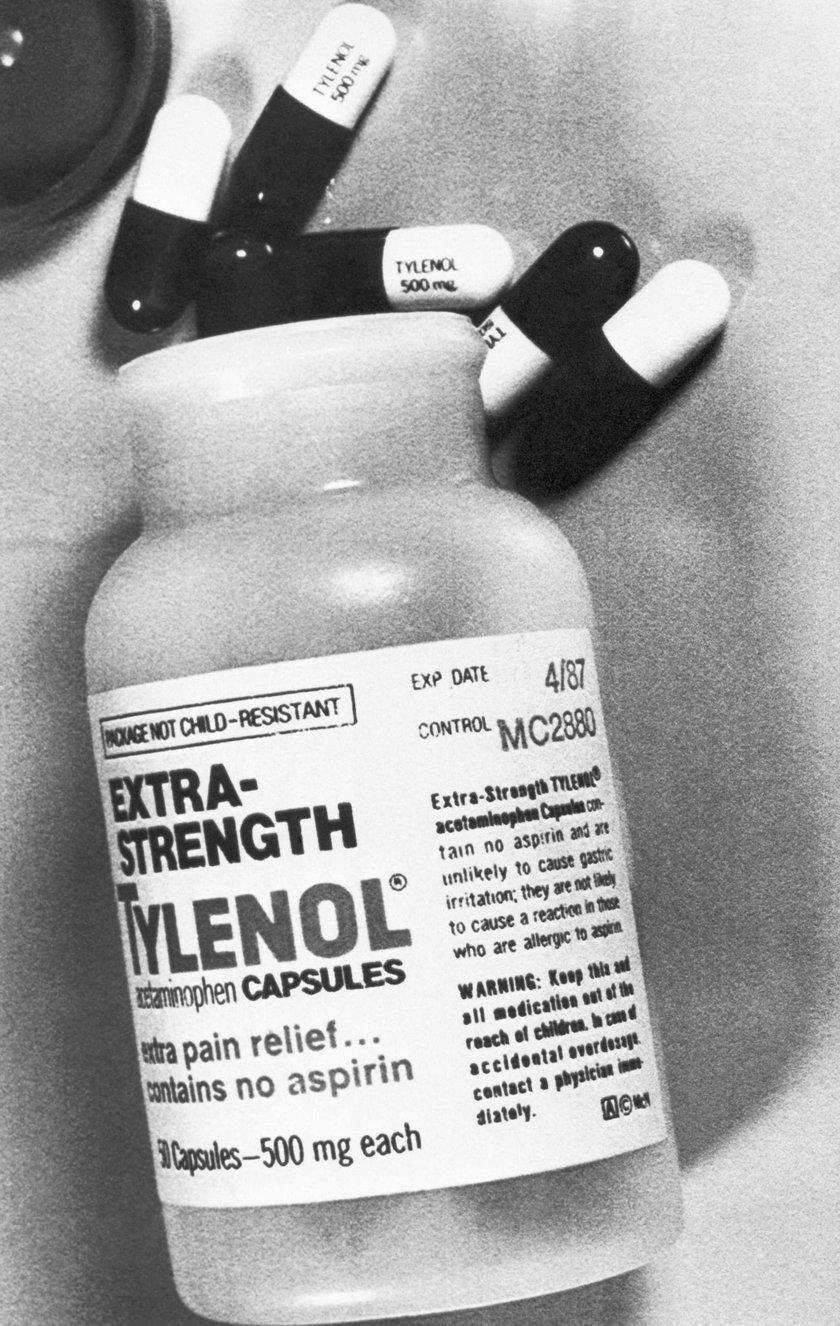 Cyjanek zamiast paracetamolu