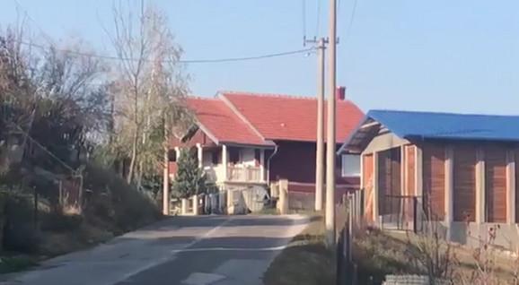 Selo u kom se desilo nasilje