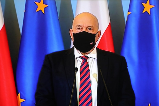 Minister finansów, funduszy i polityki regionalnej Tadeusz Kościński