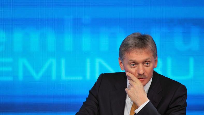 Dmitrij Pieskow, rzecznik Kremla i prezydenta Rosji Władimira Putina
