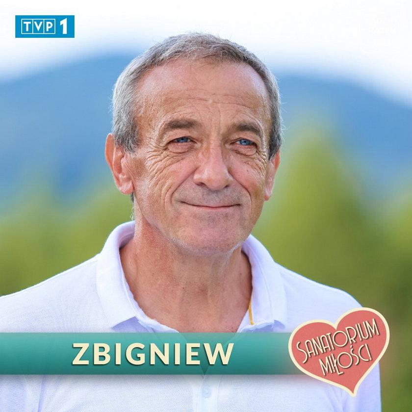 """Zbigniew z """"Sanatorium miłości 3"""""""