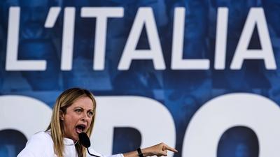 Może zostać pierwszą we Włoszech kobietą premier, ale to nie jest wcale dobra perspektywa