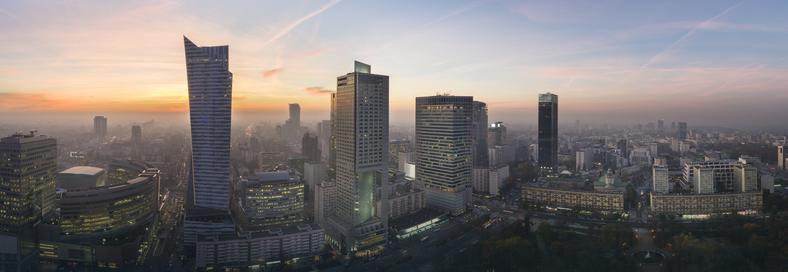 Warszawa o świcie