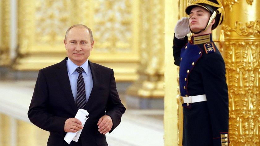 Władimir Putin jest faworytem w wyborach prezydenckich
