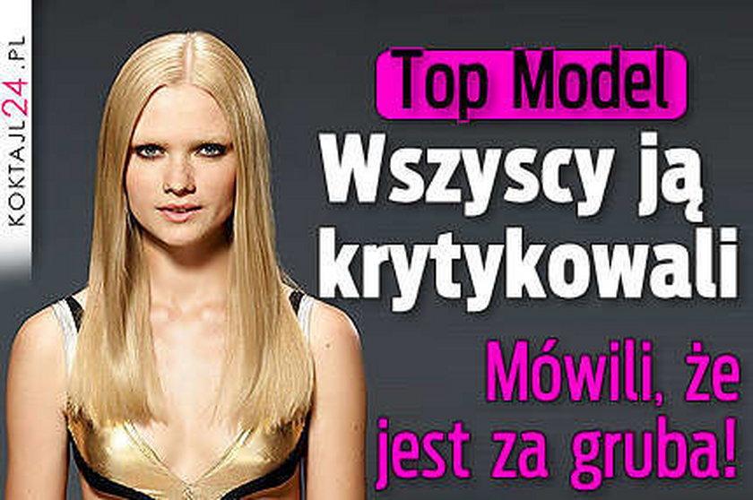 """Honorata odpadła z """"Top Model 2"""""""