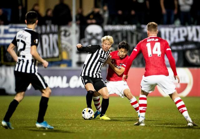 Detalj sa meča AZ Alkmar - FK Partizan u 5. kolu Lige Evrope