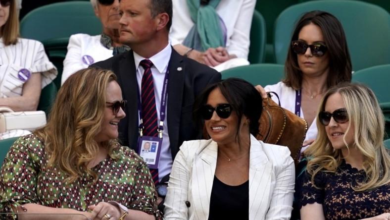 Księżna oglądała na żywo w miniony czwartek mecz Sereny Williams...