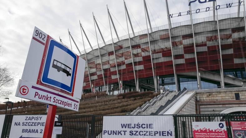 Przystanek autobusowy Punkt Szczepień 51 w Warszawie