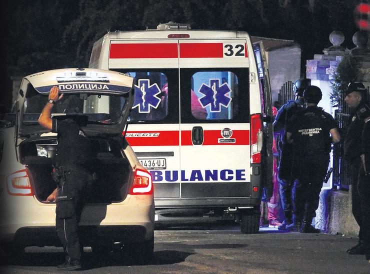 ubistvo pucnjava hitna pomoć