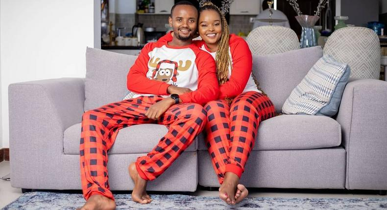Kabi Wajesus and Wife Milly