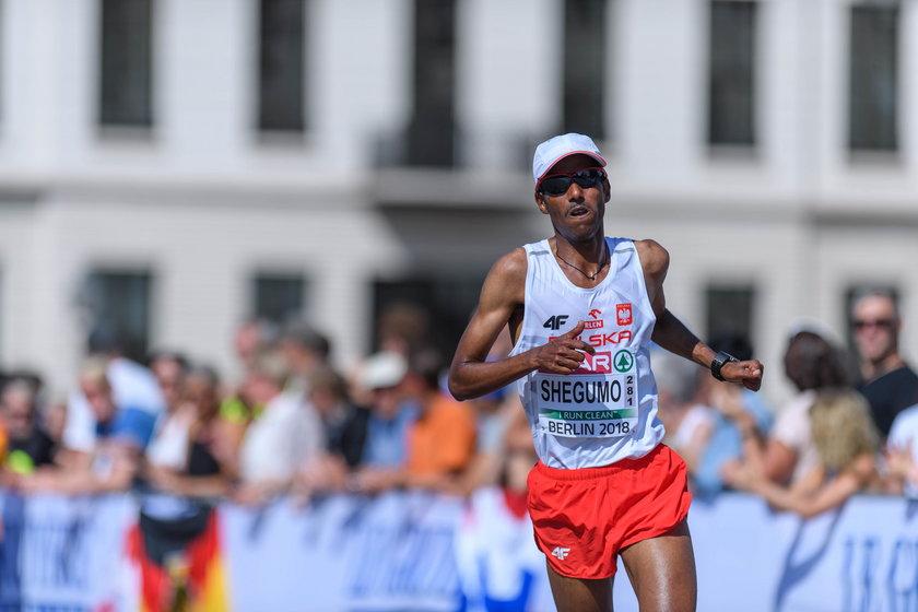 Wicemistrz Europy z 2014 roku, w grudniu otarł się o olimpijskie minimum (2:11.30)
