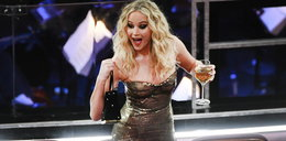Aktorka przesadziła z winem na Oscarach?