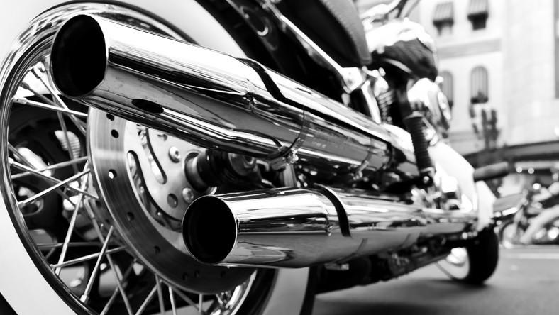 Motocykl, układ wydechowy