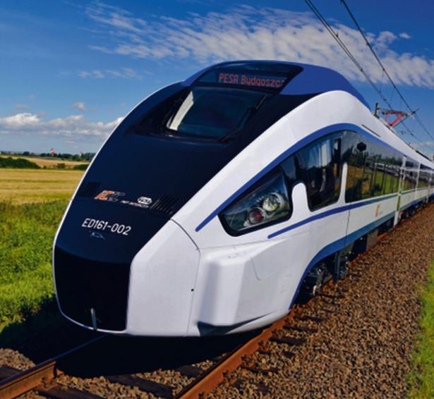 PKP Intercity zamówiły w Pesie 20 pociągów Dart. Odebranych jest na razie pięć