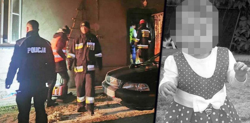 Zmarła Anielka poparzona w pożarze. Poruszające słowa strażaka