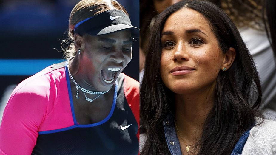 Serena Williams i Meghan Markle