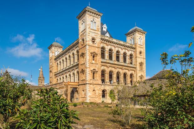 Pałac królewski, Rova Antananarivo, Madagaskar