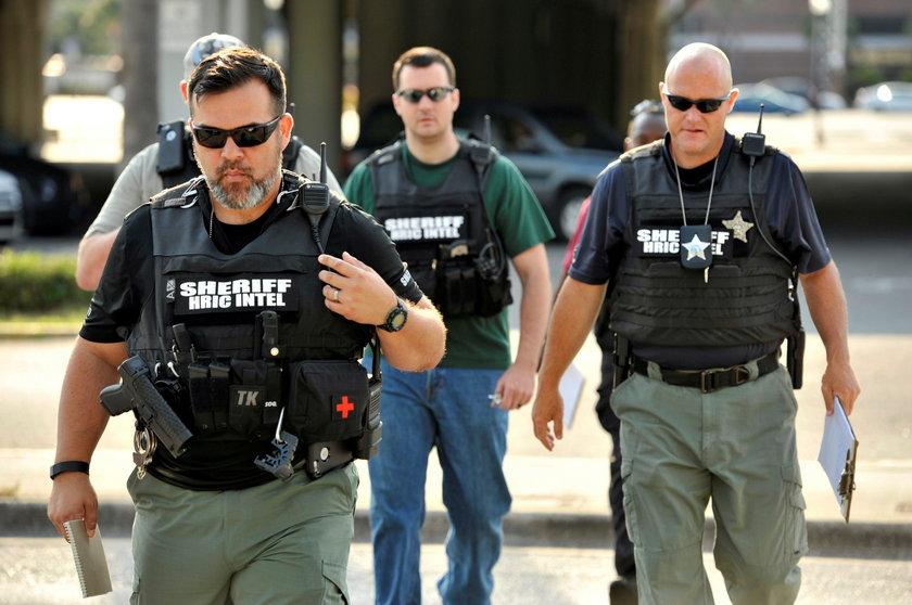 Terrorysta został zastrzelony przez oddział policji SWAT