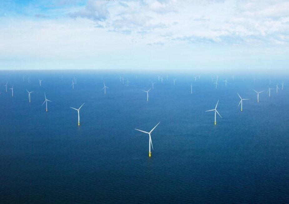 Morska farma wiatrowa Borselle 1&2. Fot. Orsted