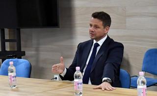 Prezydent Warszawy Rafał Trzaskowski wraz z żoną złożą oświadczenie majątkowe