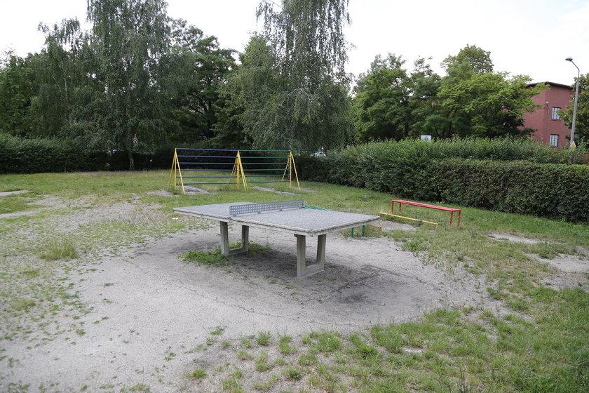 Betonowy stół do ping ponga