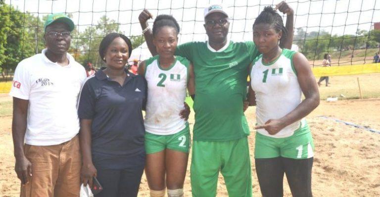 Nigerian Women Volleyball Team