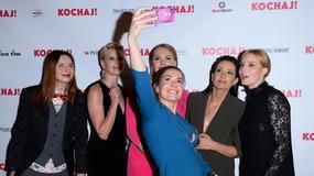 """""""Kochaj"""": Kożuchowska, Bołądź, Lamparska i Gąsiorowska na uroczystej premierze"""