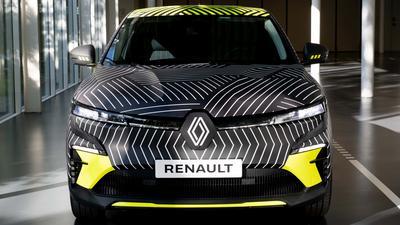 Renault Megane - elektryczny następca coraz bliżej