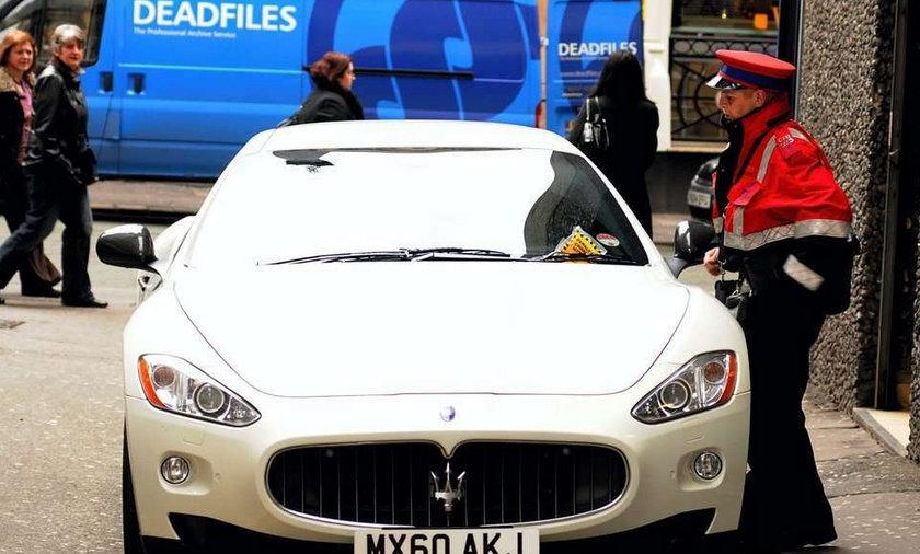 Policja odholowała samochód Mario Balotellego