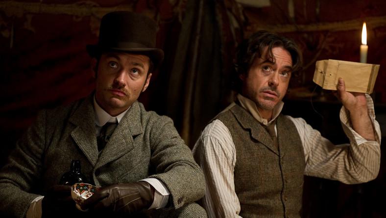 """""""Sherlock Holmes: Gra cieni"""" znów jest najlepszy!"""