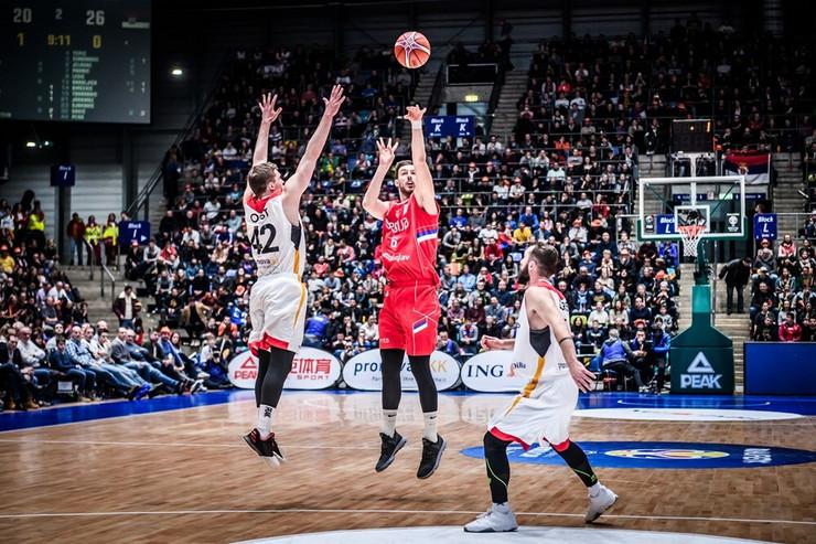 Košarkaška reprezentacija Nemačke, Košarkaška reprezentacija Srbije