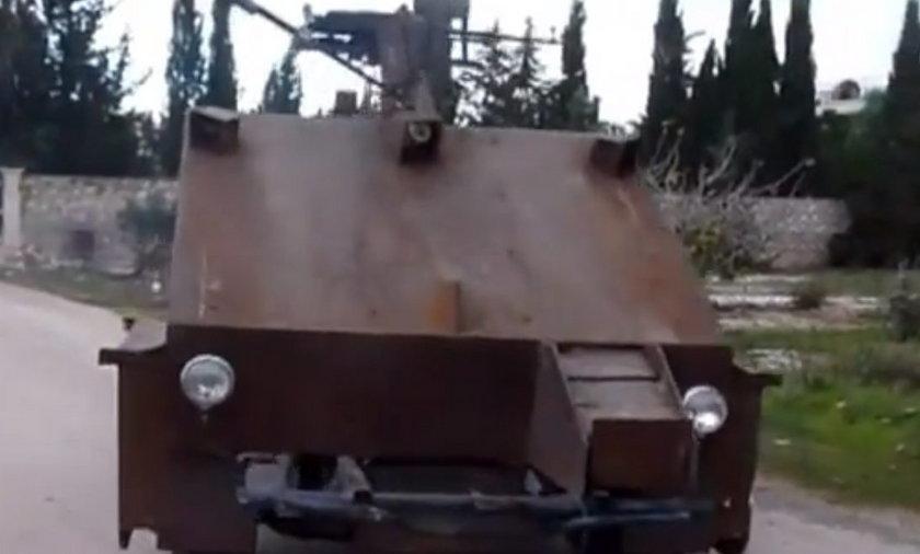 czołg rebeliantów w Syrii