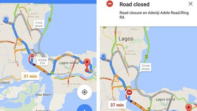 Google Maps now has live traffic updates for users in Nigeria, Kenya ...