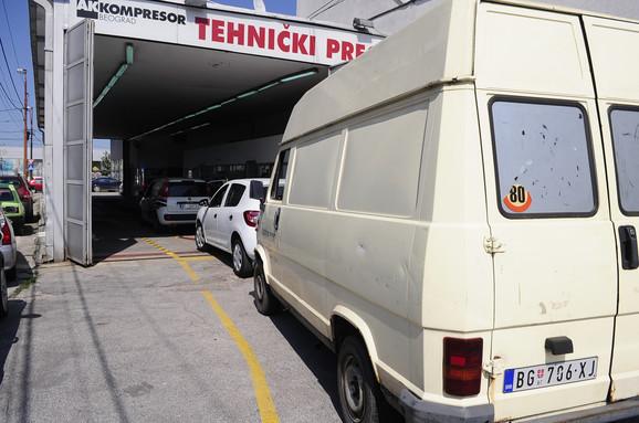 Tehnički pregled u Beogradu