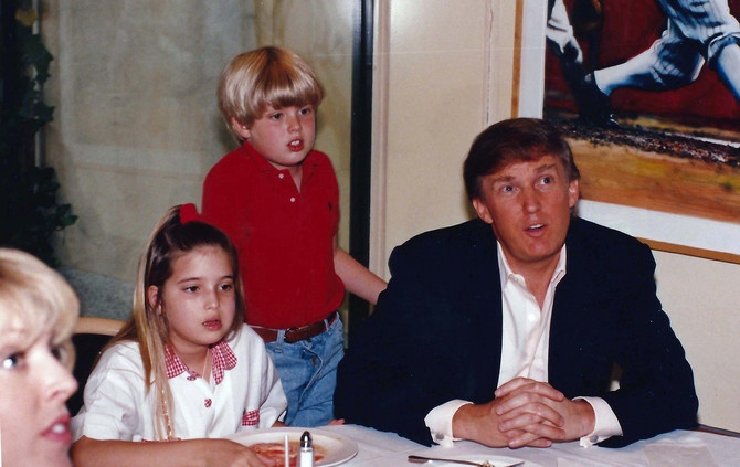 Donald, Marla Mejpls i deca