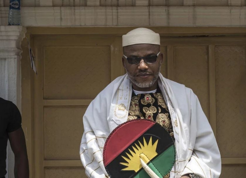 Nnamdi Kanu, leader of the Indigenous People of Biafra (IPOB) pushed out the conspiracy theory that President Buhari had died in London and was replaced by a clone