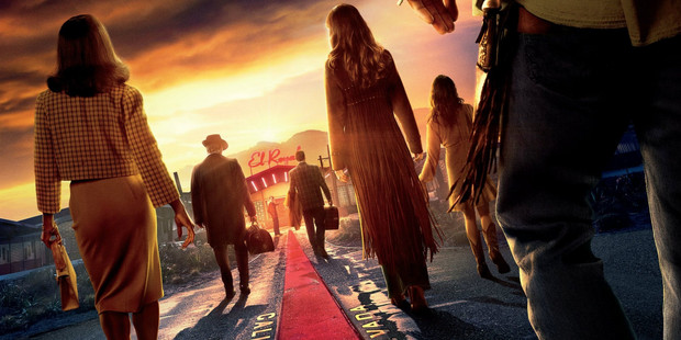 "Poster oficial pentru ""Bad Times at the El Royale"""