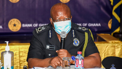 IGP meets BOG Governor, Association of Bankers over safety of police personnel