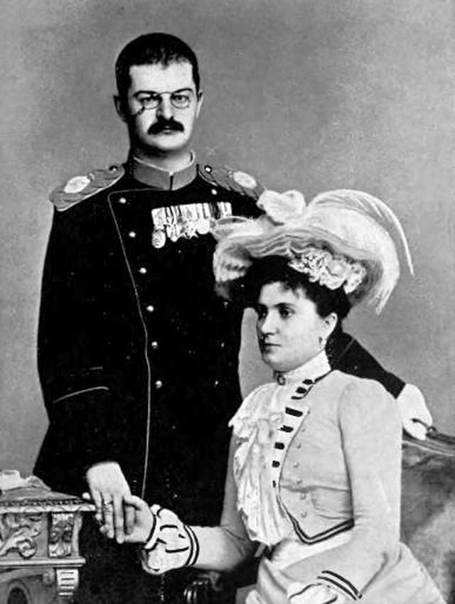 Kralj Aleksandar i kraljica Draga