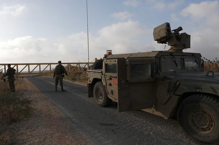Izraelska vojska na granici sa Sirijom