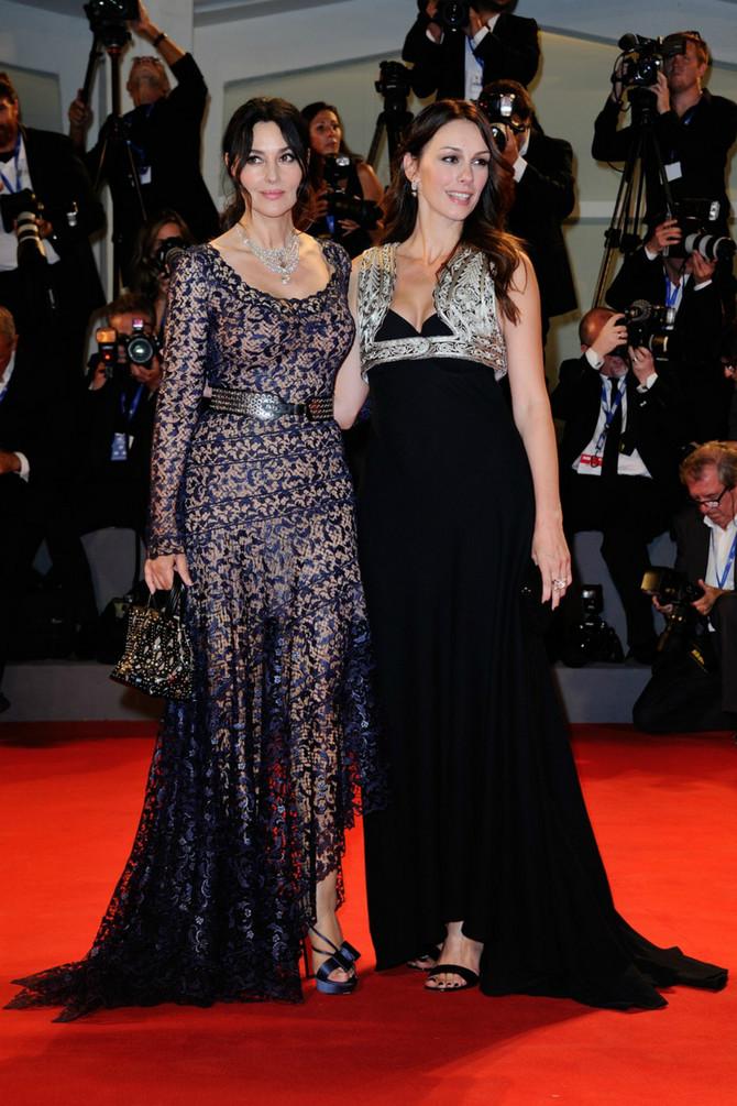 Monika Beluči i Sloboda Mićalović na Filmskom festivalu u Veneciji prošle jeseni
