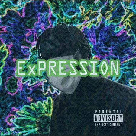 "The album art of ""ExPRESSION by Djaji Prime."