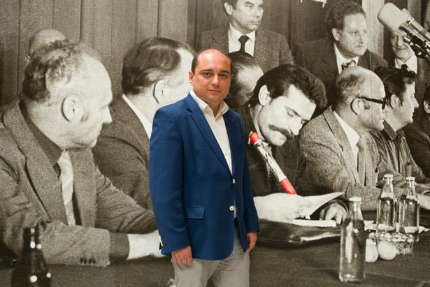 Basil Kerski, fot. Maksymilian Rigamonti