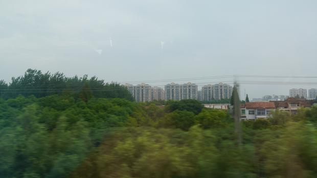 W trakcie przejazdu nie mamy wiele czasu, by zachwycać się widokiem za oknem