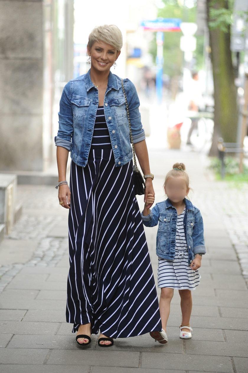 Dorota Gardias z córeczką Hanią