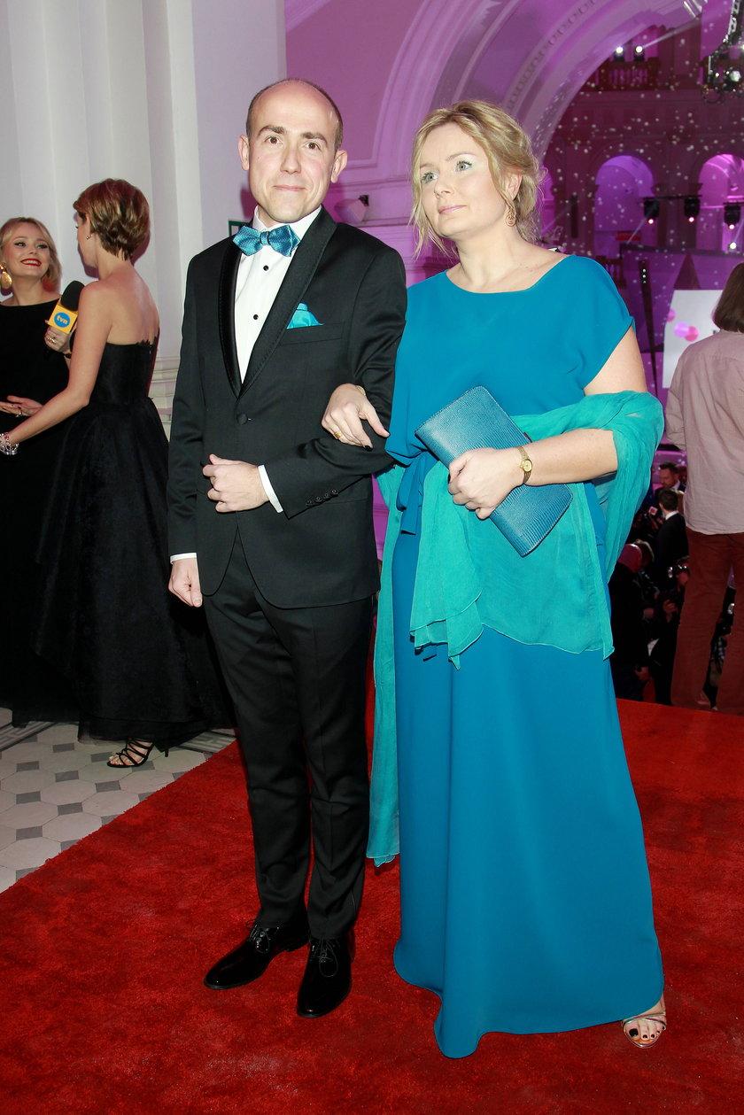 Borys Budka z żoną