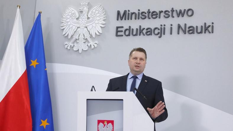 Przemysław Czarnek PAP/Paweł Supernak
