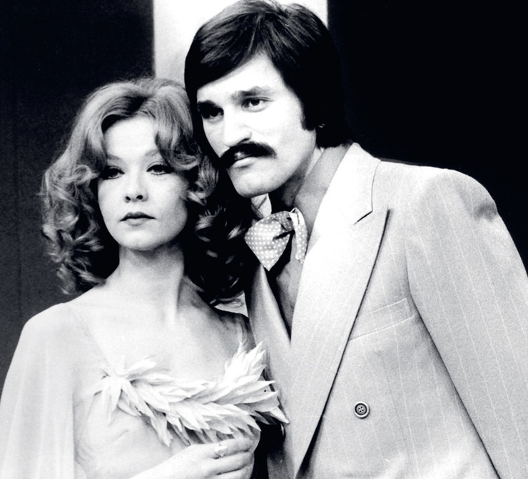 Dragan Nikolić i Milena Dravić